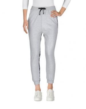 Повседневные брюки LE VOLIÈRE. Цвет: светло-серый