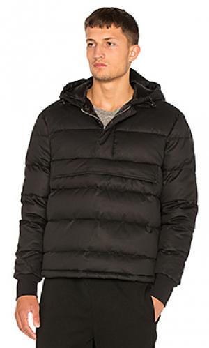 Куртка с большим капюшоном Han Kjobenhavn. Цвет: черный