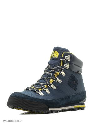 Ботинки The North Face. Цвет: синий