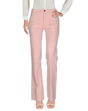 Повседневные брюки FAIRLY. Цвет: лососево-розовый
