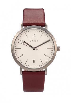 Часы DKNY. Цвет: бордовый