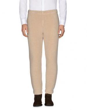 Повседневные брюки BULK. Цвет: бежевый