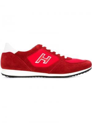 Кроссовки Olympia X Hogan. Цвет: красный