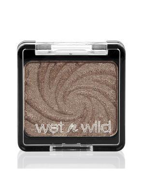 Тени для век одноцветные color icon eyeshadow sing, Тон E252B Wet n Wild. Цвет: темно-бежевый