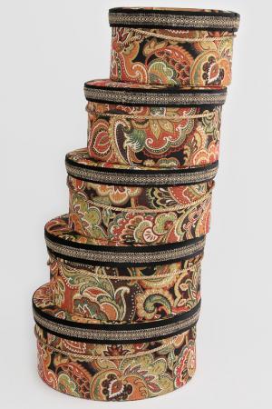 Коробочки шляпные, 5 предм Jennifer Taylor. Цвет: мультицвет