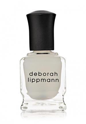 Покрытие Deborah Lippmann. Цвет: белый