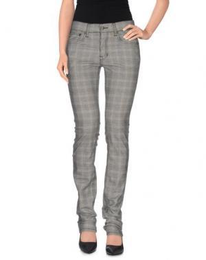 Повседневные брюки HЁLLS BЁLLS. Цвет: серый