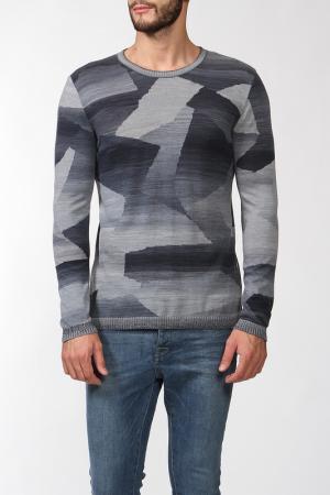 Пуловер вязаный Missoni2. Цвет: голубой