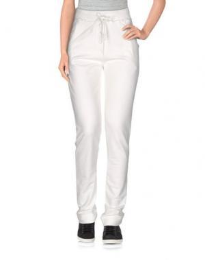 Повседневные брюки SARAH JACKSON. Цвет: белый