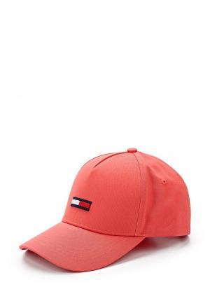 Бейсболка Tommy Jeans. Цвет: розовый