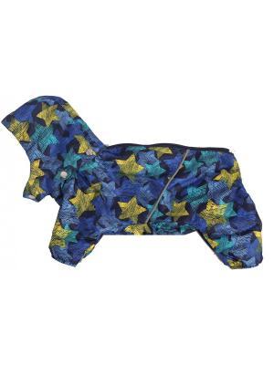Дождевик для собак LION.. Цвет: синий
