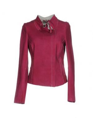 Куртка FREAKY NATION. Цвет: пурпурный