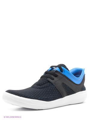 Кроссовки Adissage Recovery Adidas. Цвет: черный