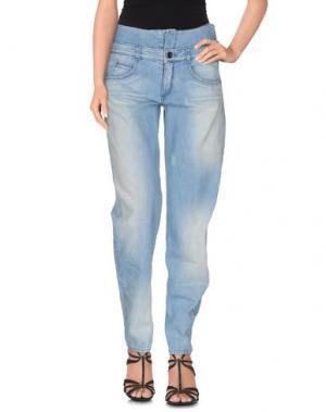 Джинсовые брюки THEYSKENS' THEORY. Цвет: синий