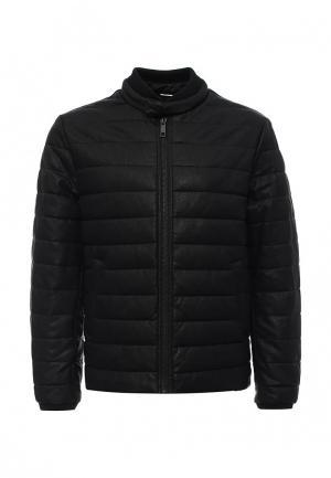 Куртка кожаная Antony Morato. Цвет: черный