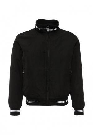 Куртка утепленная Occhibelli. Цвет: черный