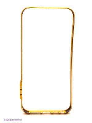 Бампер для iPhone 5/5s Kawaii Factory. Цвет: золотистый