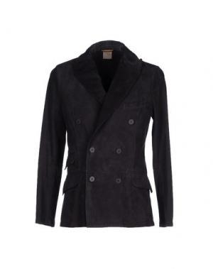 Пиджак D'AMICO. Цвет: темно-синий