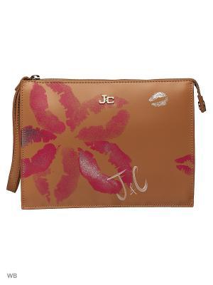 Чехол для планшета Jacky&Celine. Цвет: рыжий