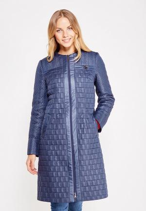 Куртка утепленная Brillare. Цвет: синий
