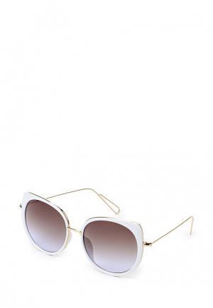 Очки солнцезащитные Vitacci. Цвет: белый