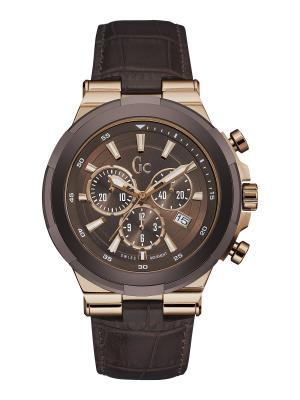 Часы GC. Цвет: коричневый,красный,золотистый