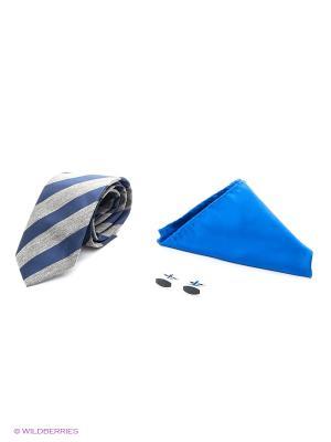 Набор Alex DANDY. Цвет: светло-серый, синий, сиреневый