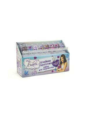 Чудо -Творчество. Disney Violetta. Набор для творчества с клейкими ленточками.. Чудо-творчество. Цвет: фиолетовый, голубой, розовый