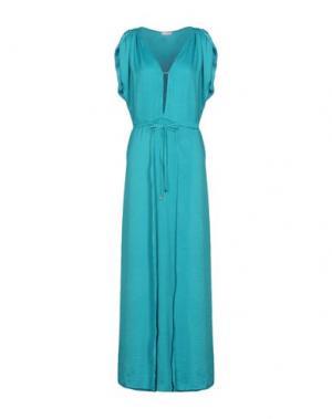 Длинное платье I-AM. Цвет: зеленый