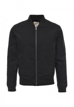 Куртка утепленная Cortefiel. Цвет: черный