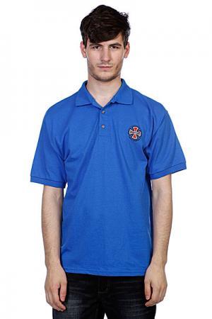 Поло  Truck Co Polo Shirt Royal Blue Independent. Цвет: синий