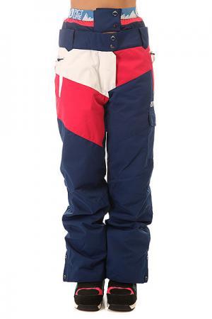 Штаны сноубордические женские  Time Dark Blue Picture Organic. Цвет: синий