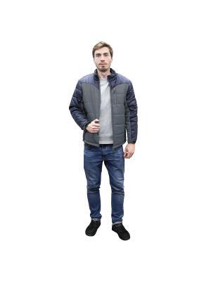 Куртка демисезонная и спиннер в подарок PROFFI. Цвет: серый