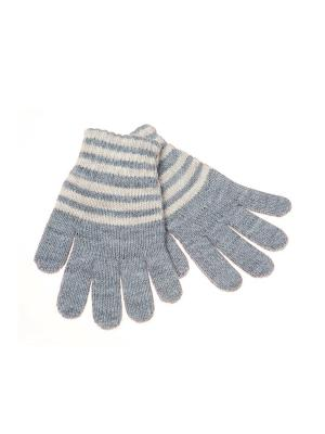 Перчатки FOMAS. Цвет: серый, кремовый