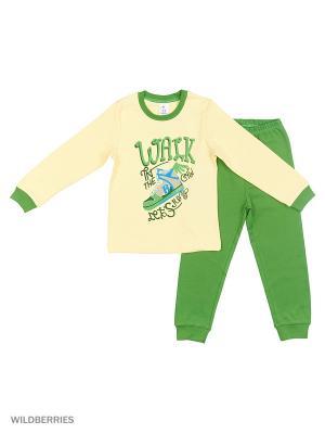 Пижама PEPELINO. Цвет: зеленый