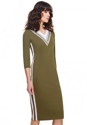 Платье Devita. Цвет: хаки