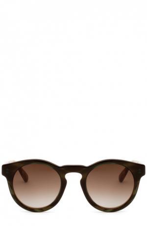 Солнцезащитные очки Marc Jacobs. Цвет: бесцветный