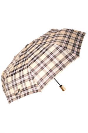 Зонт автоматический MITYA VESELKOV. Цвет: бежевый