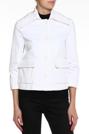 Куртка GF FERRE. Цвет: белый