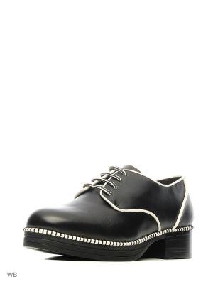 Ботинки EEIGHT. Цвет: белый, черный
