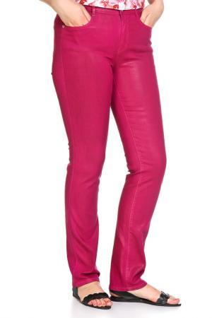 Брюки SARAH KERN. Цвет: ярко-розовый