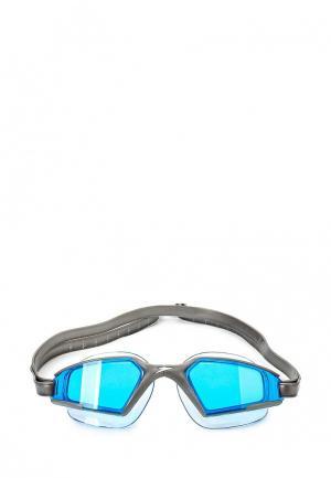Очки для плавания Speedo. Цвет: серый