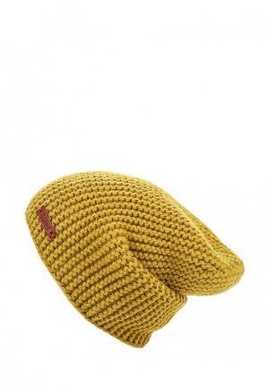 Шапка Burel. Цвет: желтый