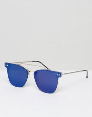 Spitfire Солнцезащитные очки с зеркальными стеклами. Цвет: прозрачный