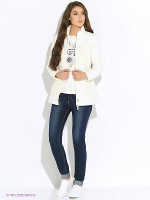 Куртка GEOX. Цвет: белый