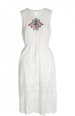Платье Suno. Цвет: белый