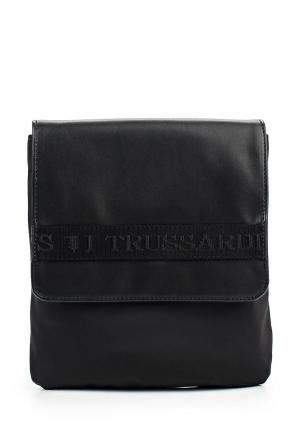 Сумка Trussardi Jeans. Цвет: черный