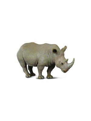 Белый носорог, L 13 см Collecta. Цвет: серый