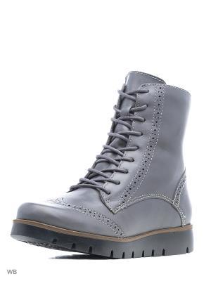 Ботинки Bottero. Цвет: серый