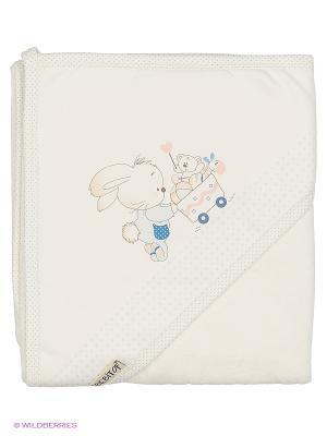 Полотенце Bebitof Baby. Цвет: голубой